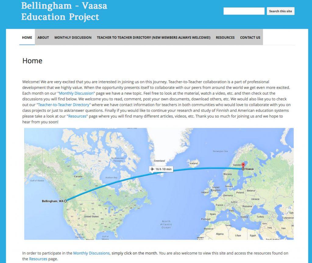 20150124-Bellingham-Vaasa-Education-Project