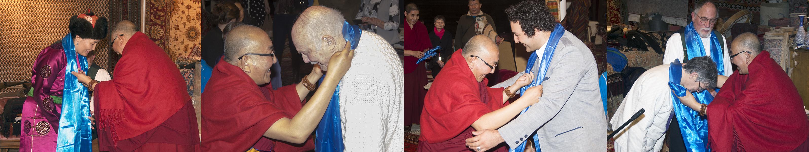 Arjaa Rinpoche Khadag  Presentations
